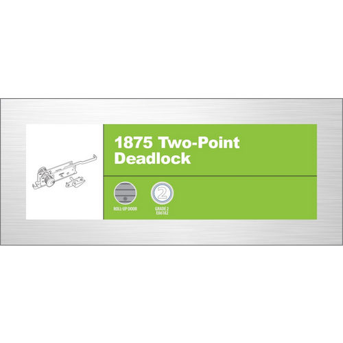Adams Rite 1875 41-0468 Two Point Deadlock