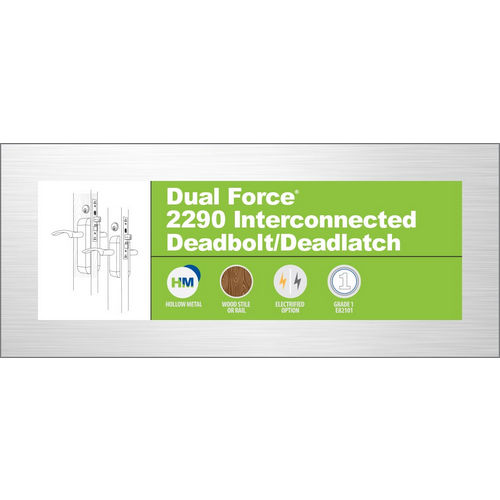 Adams Rite 2290-311-000 Deadbolt/Deadlatch
