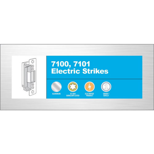Adams Rite 7100-310-313-00 Electric Strike, Dark Bronze