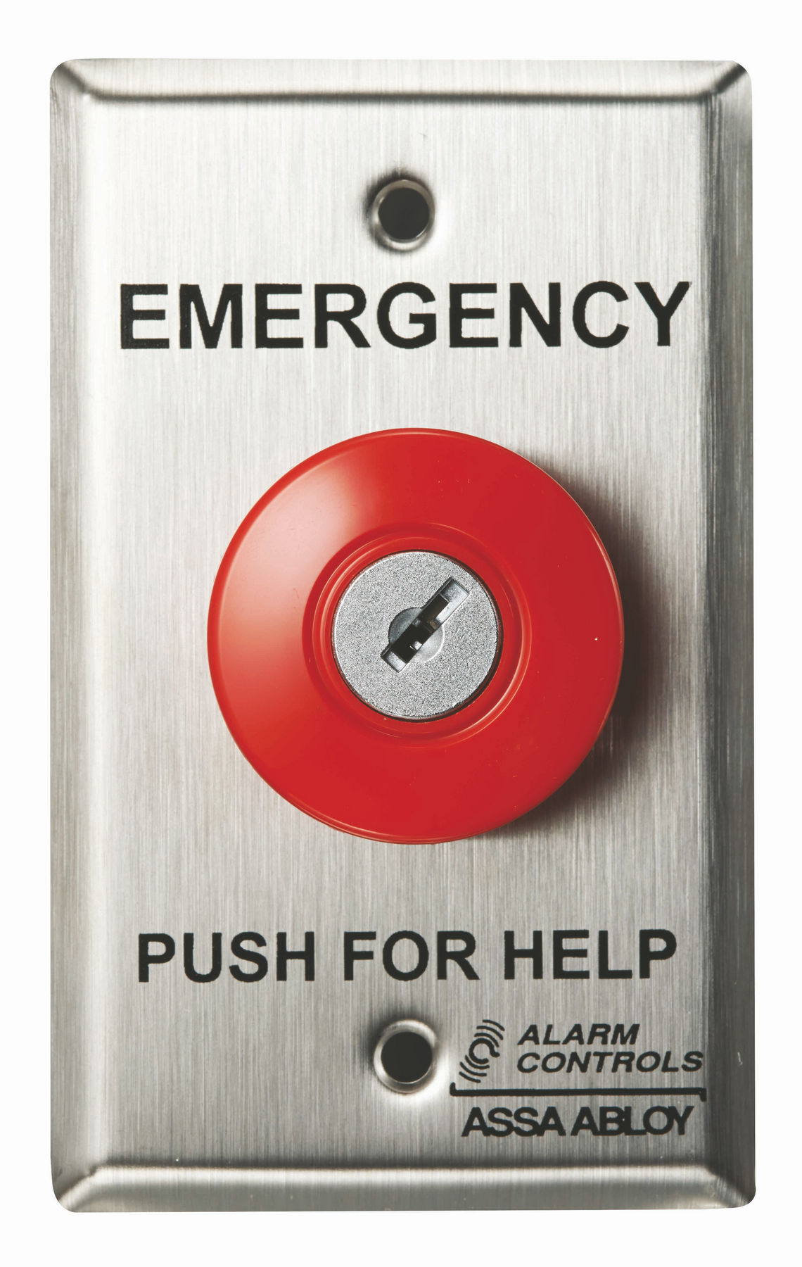 Alarm Controls PN1-111 Vandal Resistant Push Plate