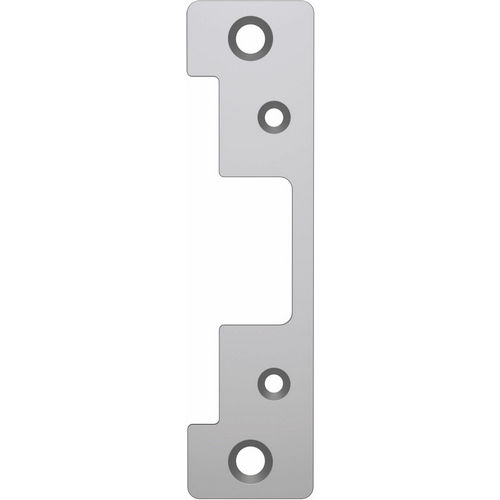 HES 501A-630 Electric Strike Faceplate ANSI, Satin Stainless Steel
