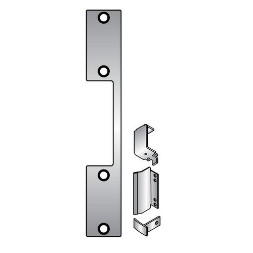 HES DB2-630 Faceplate Kit, Satin Stainless Steel