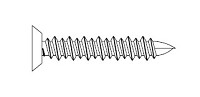 Markar TC316125 Phillips Flat Head Concrete Screw 3/16 x 1-1/4