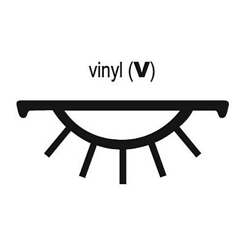 Pemko PV9BL36 Replacement Vinyl, Black