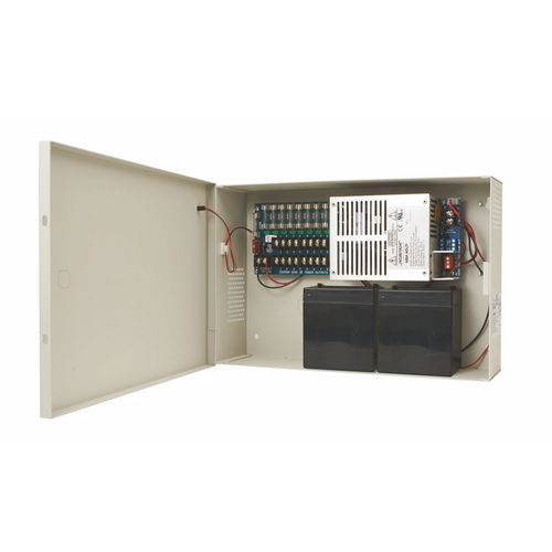 Securitron AQU243-8F Power Supply 3A, 24 VDC, 8 Fused Outputs