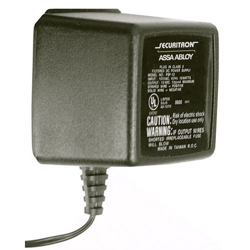 Securitron PSP-12 Power Supply Plug-In 12 VDC, 700mA