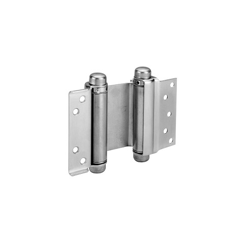 "McKinney 1001 Spring Hinge Simple x Butt 3"", Dull Brass"