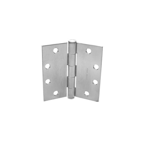 "McKinney TCA2714 Full Mortise Hinge 5"" x 4-1/2"", Dull Brass, Oxidized"