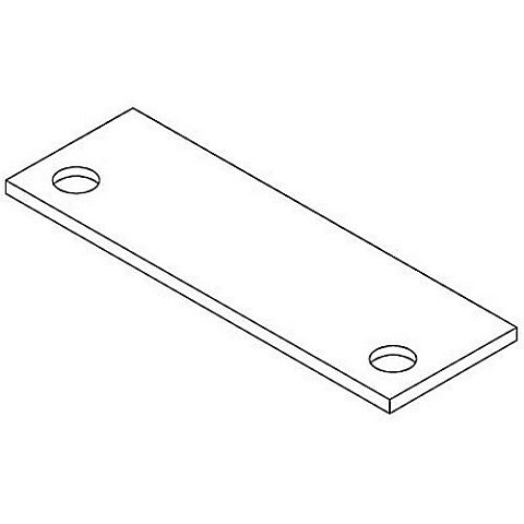 Pemko HF3-25PK Hinge Filler for Frames, Pack of 25, 4-1/2""