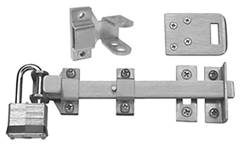 Rockwood 582-8 Surface Bolt with Zinc Plated Sex Bolts