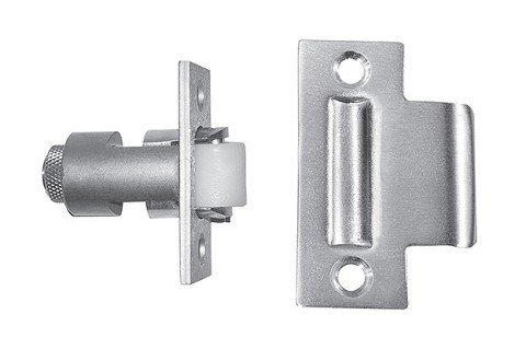 "Rockwood 594 Roller Latch with 2-3/4"" Strike"